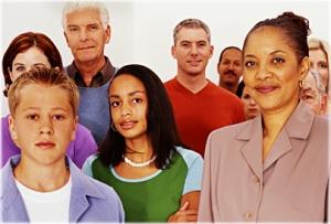 sokszínű emberek
